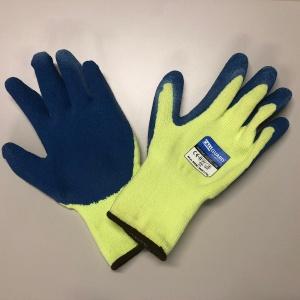 Werkhandschoen Thermo Viz (geel/blauw)