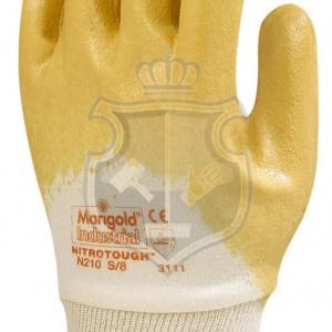 Werkhandschoen stevig (geel)