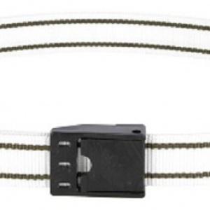 Veehalsband Kunststof Gesp 130cm. Wit