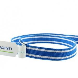 Veehalsband Knelgesp 130cm. Blauw